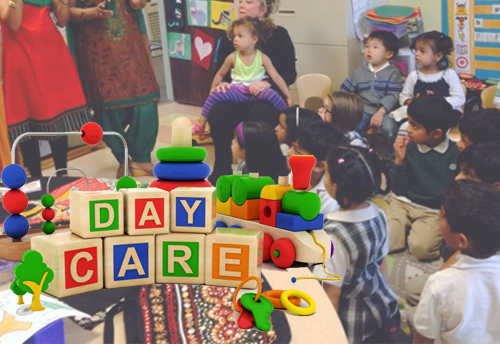 DAY CARE FACILITY IN GURGAON SEC-56